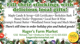 Fill Their Stockings with Delicious Local Gifts!