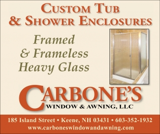 Custom Tub & Shower Enclosures