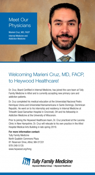 Meet Our Physicians, Tully Family Medicine