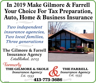 Make Gilmore & Farrell Your Choice for Tax Preparation