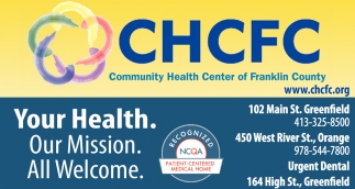 Your Health, Our Mission, All Welcome.