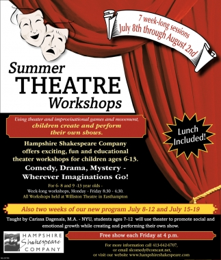 Summer Theatre Workshops