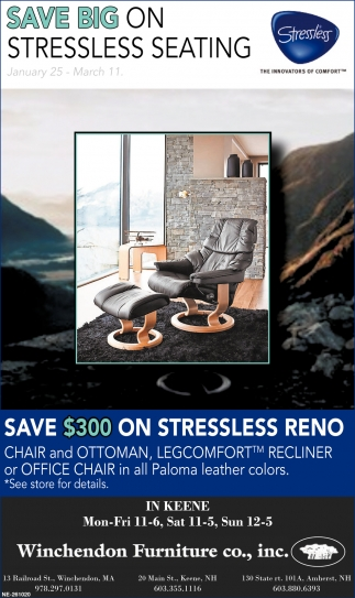 Save Big On Stressless Seating
