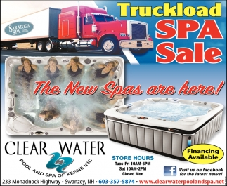 Truckload Spa Sale