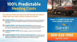100% Predictable Heating Costs
