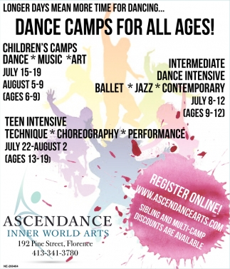 Dance Camps for All Ages