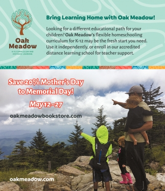 Bring Learning Home with Oak Meadow