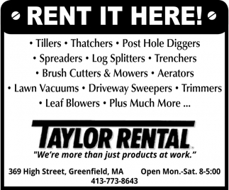 Rent it Here!