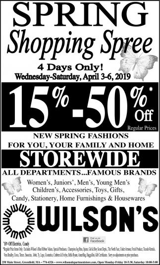 Super Spring Sale