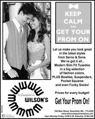 Keep Calm and Get Your Prom On