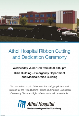 Ribbon Cutting and Dedication Ceremony