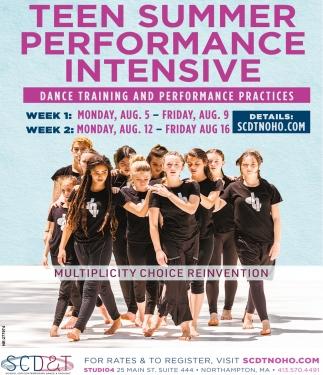 Teen Summer Performance Intensive