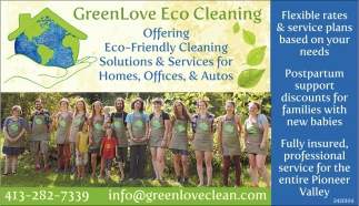 Eco-Friendly Cleaning