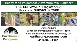 Free Survival Kit Register ASAP