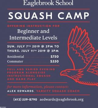 Squash Camp