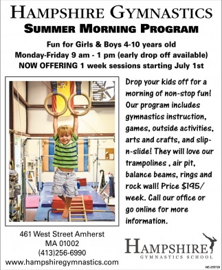 Summer Morning Program